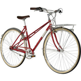 Ortler Bricktown City Bike Women red